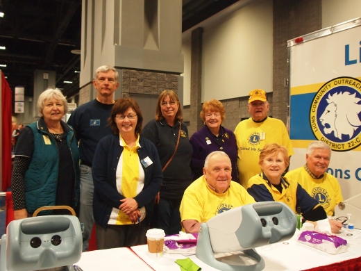 Sandy Spring Lions Proudly Serve at a Regional Health Fair